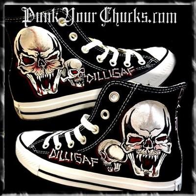Dilligaf Custom Converse Sneakers