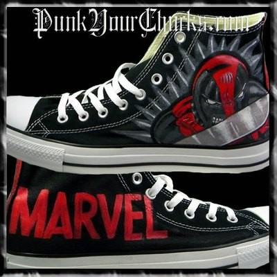 Deadpool 2 Custom Converse Sneakers