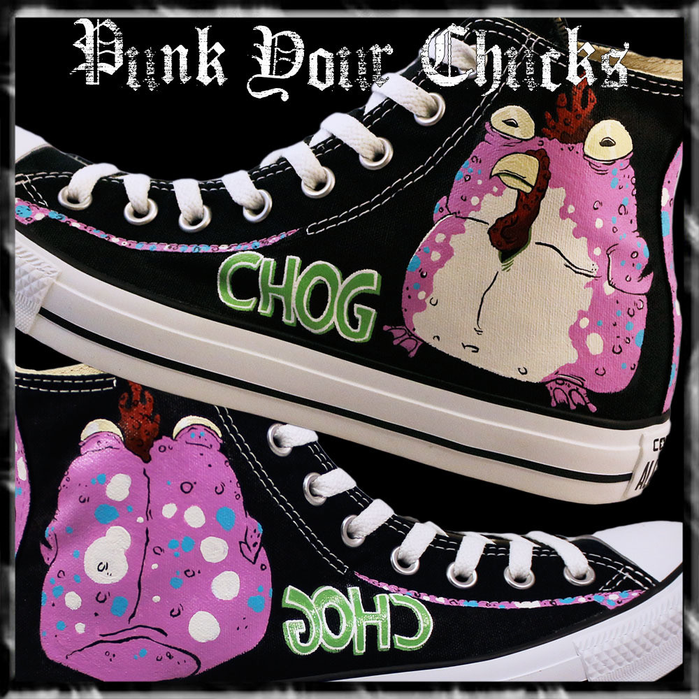 Chew Chog Custom Converse Sneakers