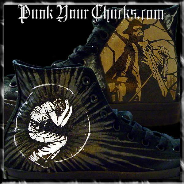Comeback Kid Custom Converse Sneakers
