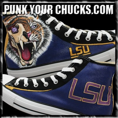 College Sports Team Custom Converse Sneakers