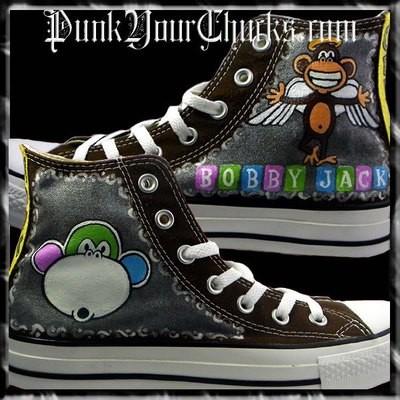 Bobby Jack Custom Converse Sneakers