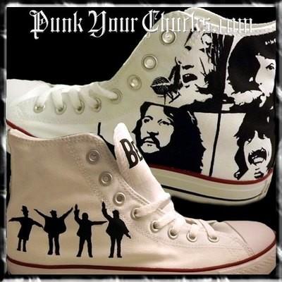 Beatles Custom Converse Sneakers