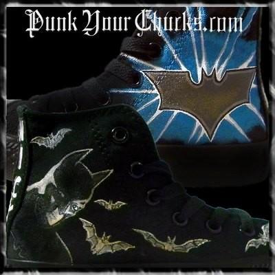 Batman Custom Converse Sneakers