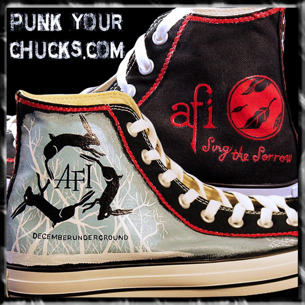 AFI Custom Converse Sneakers