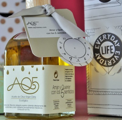 AQ5Tastes 100 ml. Aceite de Oliva Virgen Extra Ecológico