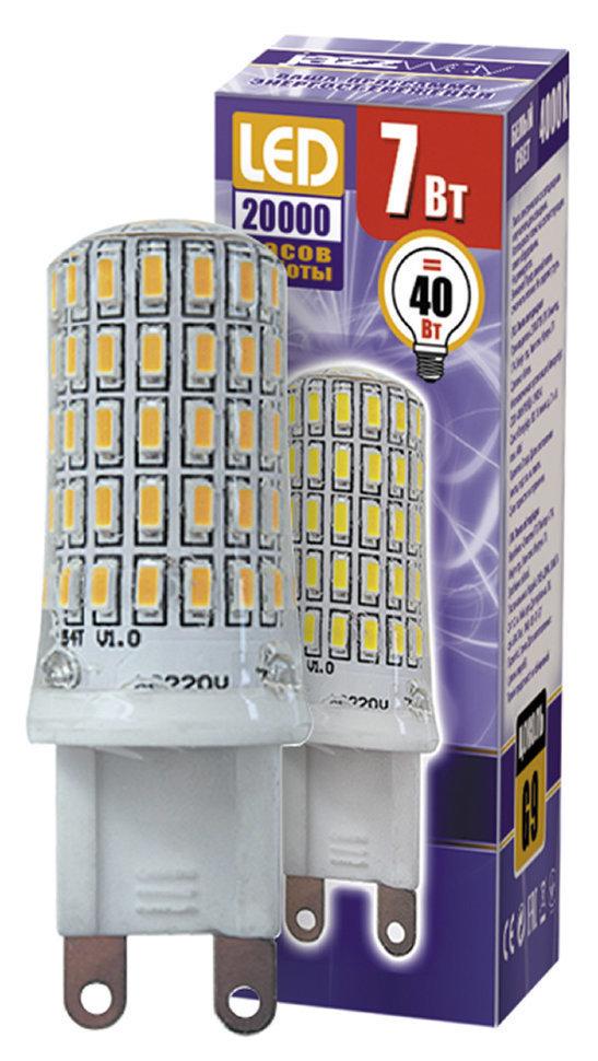 Лампа светодиодная капсульная 7ВТ G9