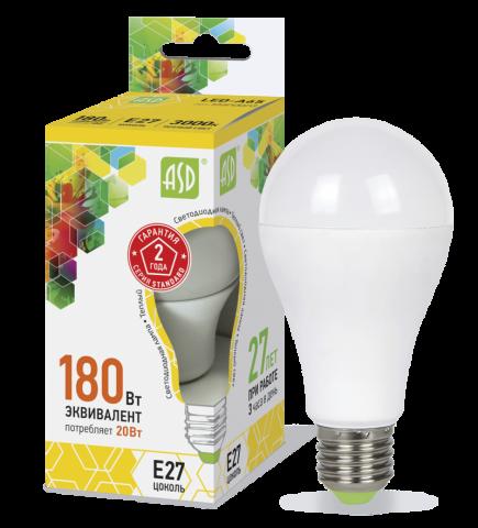 Лампа светодиодная 20ВТ 230В А60 Е27