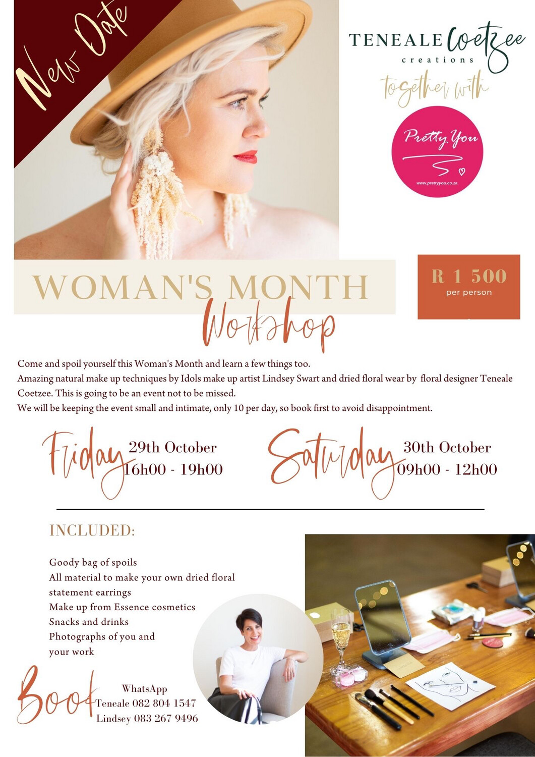 Cape Town Woman's Day Workshop