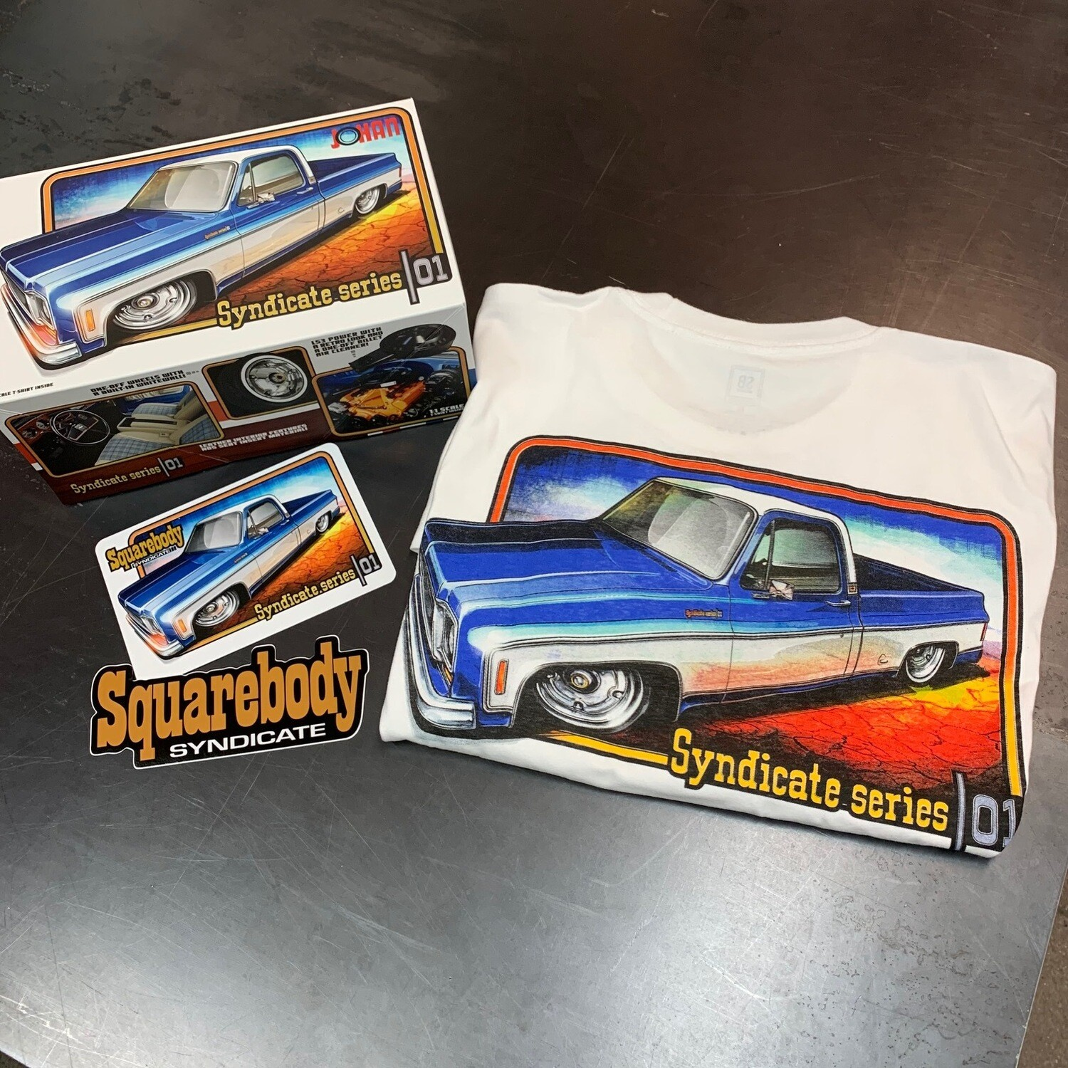 SS01 LIMITED EDITION shirt and decal pack