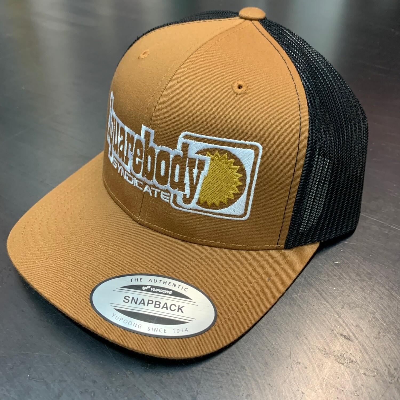 Carhartt inspired SNAPBACK RETRO TRUCKER MESH SBS LOGO #4 HAT