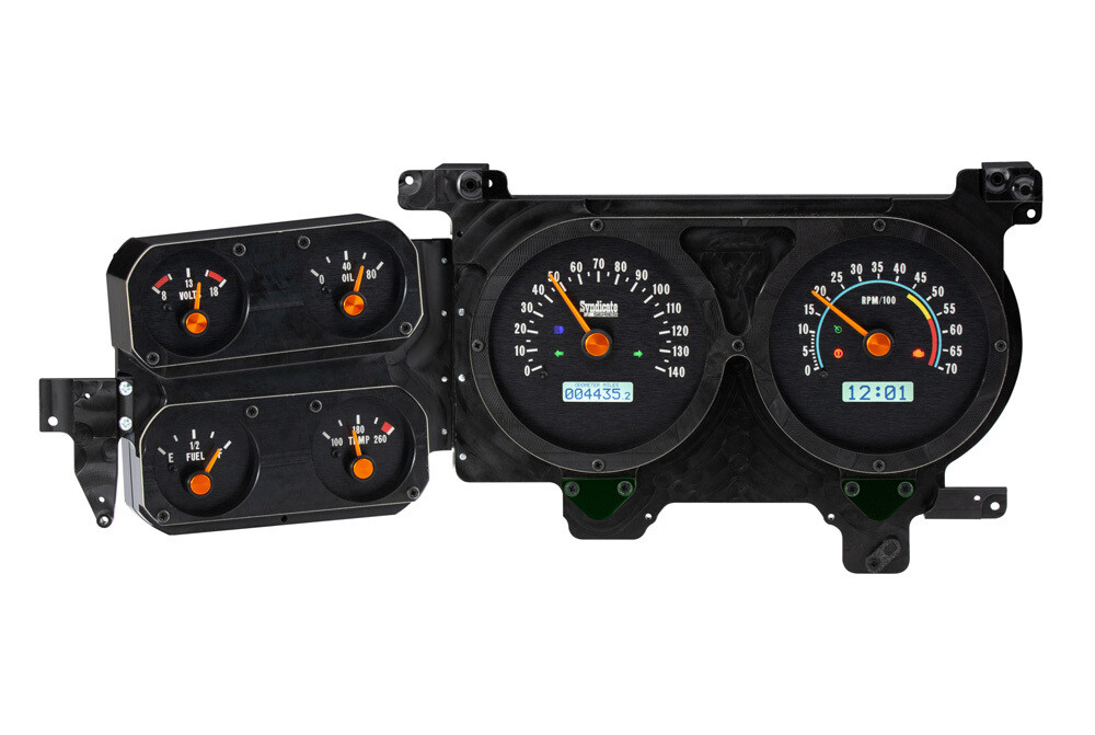 Syndicate Series by Dakota Digital 1973-87 VHX instrument clusters