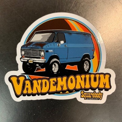 VANDEMONIUM SYNDICATE VAN DECAL