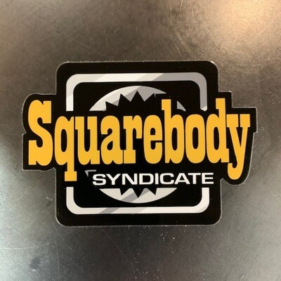 SBS SYNDICATE #3 DECAL