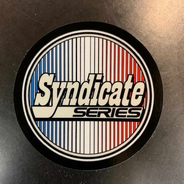 SYNDICATE SERIES ROUND DECAL