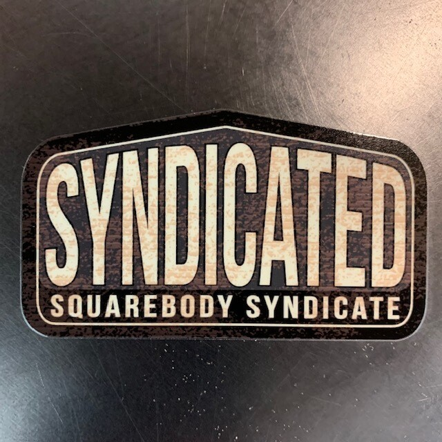 SBS SYNDICATE DECAL