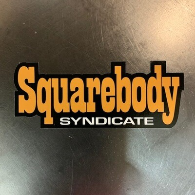 SBS SYNDICATE #2 DECAL
