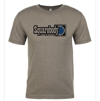 VINTAGE GRAY SYNDICATE SERIES RETRO SUPER SOFT TRI-BLEND