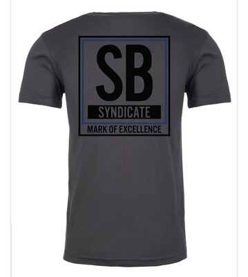 MARK OF EXCELLENCE SB LOGO GRAY SHIRT