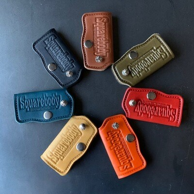 Limited colors Squarebody Syndicate handmade dealer leather key holder