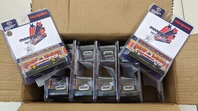 M2 Machines 1:64 scale case of 12 units including The Gold Chase of The Mongoose!!