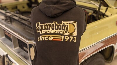 The NEW Since 1973 Black Heavy Hoodie