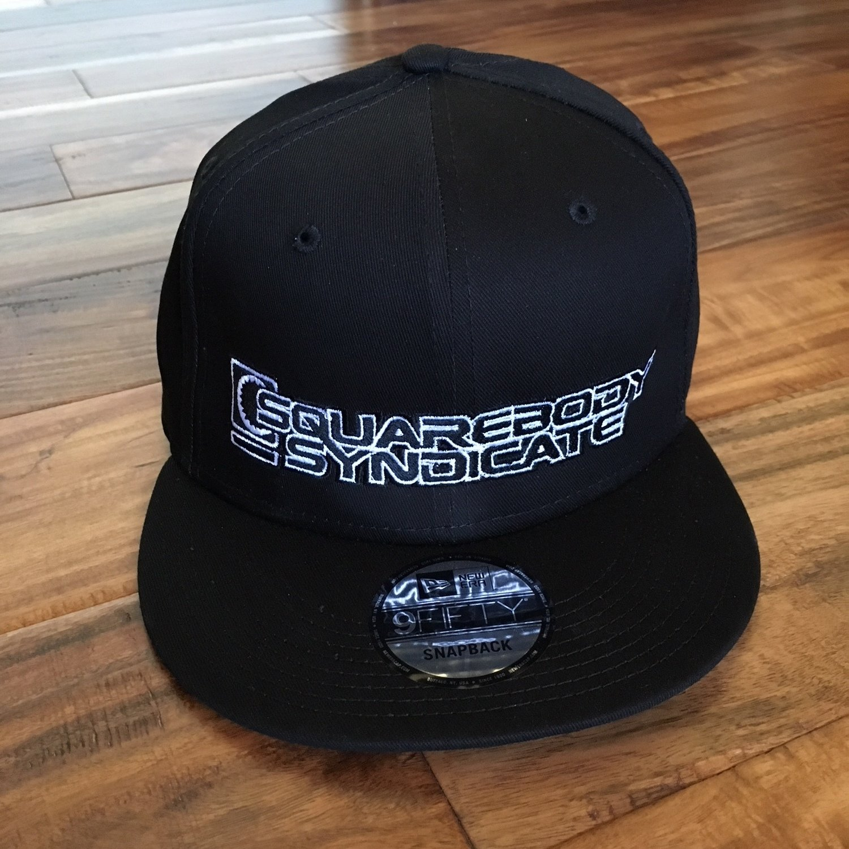 NEW ERA 9FIFTY BLACK SNAPBACK 81-87 LOGO HAT