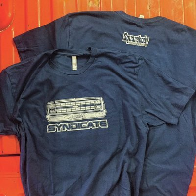 THROWBACK 1981-87 CHEVY FRONT END NAVY SHIRT