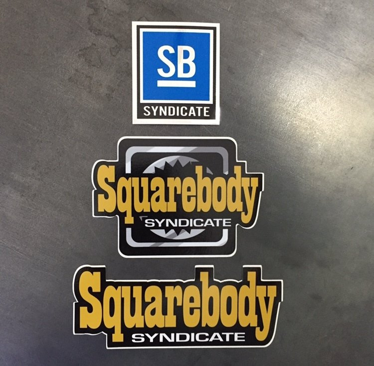 3 SBS SYNDICATE DECAL PACK