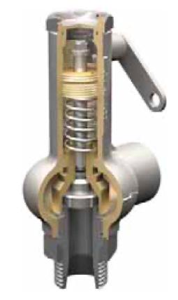 Клапан предохранительный Прегран КПП 095-05-16-25х25 Давление настройки 5,45 бар