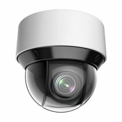 4MP IP Weatherproof POE Powered Auto Tracking Mini PTZ Dome Security Camera | 25X 4.8-120mm Long Range Zoom Lens | Long Range 160' Infrared W/ Hidden Illuminators | MVN-4A425-PTZir