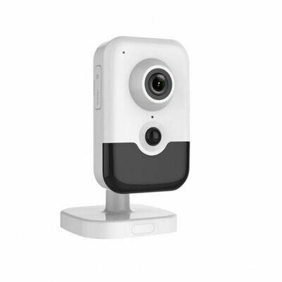 5MP Indoor IR Wifi Cube Camera with 2.8mm Wide Angle Lens, Built-in Two-Way Audio Mic and Speakers, True PIR Motion Detection, 30' Infrared Night Vision, SD Card Slot for On-Board Storage (MVN-245W-C)