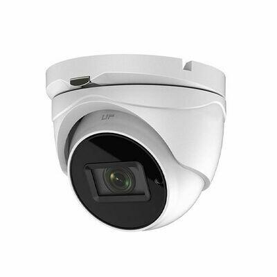 5MP HD-TVI Extreme Low Light Outdoor Motorized Varifocal Turret Security Camera 2.8-12mm (MVN-TVISTAR5-DMZF2)