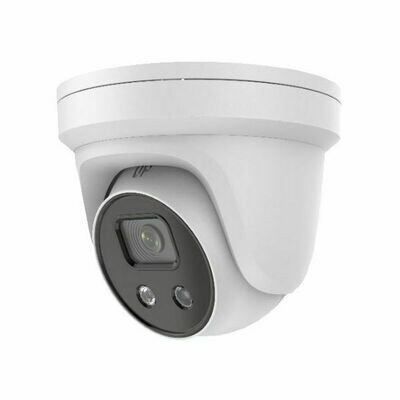 4MP Nitecolor Extreme Lowlight Turret IP Security Camera with a 2.8mm Fixed Lens and Smart Sensing Artificial Intelligence (MVN-NITECOLOR-DM3)