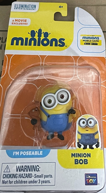 Minions Mini Action Figure - Bob