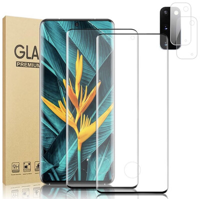 Premium Tempered Glass Screen Protector S20 Ultra