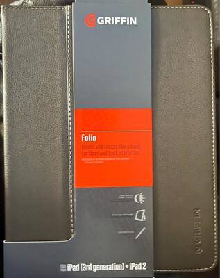 Griffin Folio Black (iPad2-ipad3)