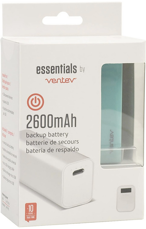 Essentials ventev battery pack