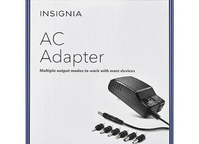 Insignia 7-Tip AC Adapter Set (NS-AC501-C)