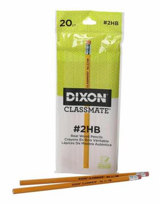 Dixon Classmate Pencils - 20 Pack Black