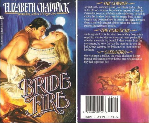 Chadwick, Elizabeth / Bride Fire (1992) / Leisure Books (Paperback)