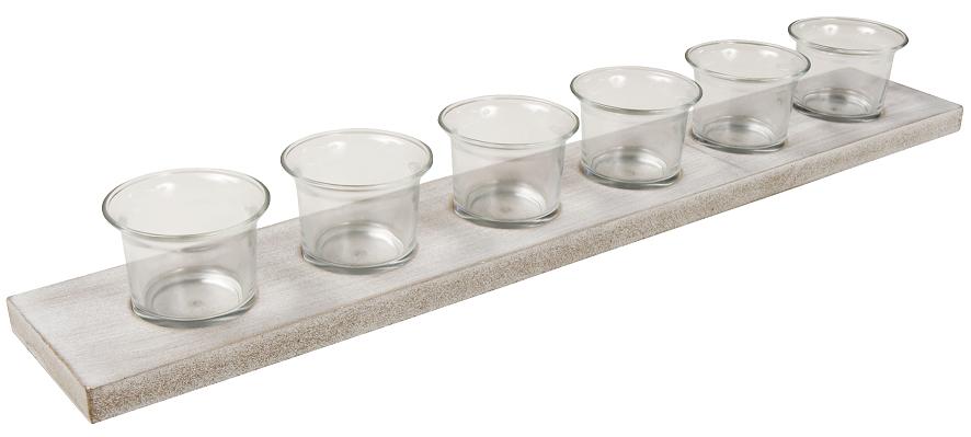 Arti Casa Teelicht Kerzenhalter inkl. 6 Gläsern