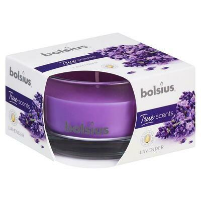 bolsius Duftkerze im Glas Lavendel