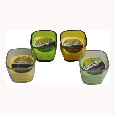 CHAMP Kerze Citronella im Glas
