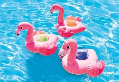 Intex Getränkehalter Flamingo, 3er Set