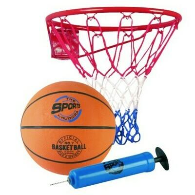 Hudora Slam it Basketball Set, 3-teilig