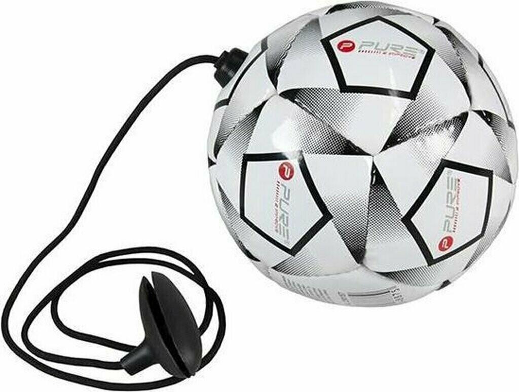 Pure2improve Fussball Schusstrainer mit Mini Ball