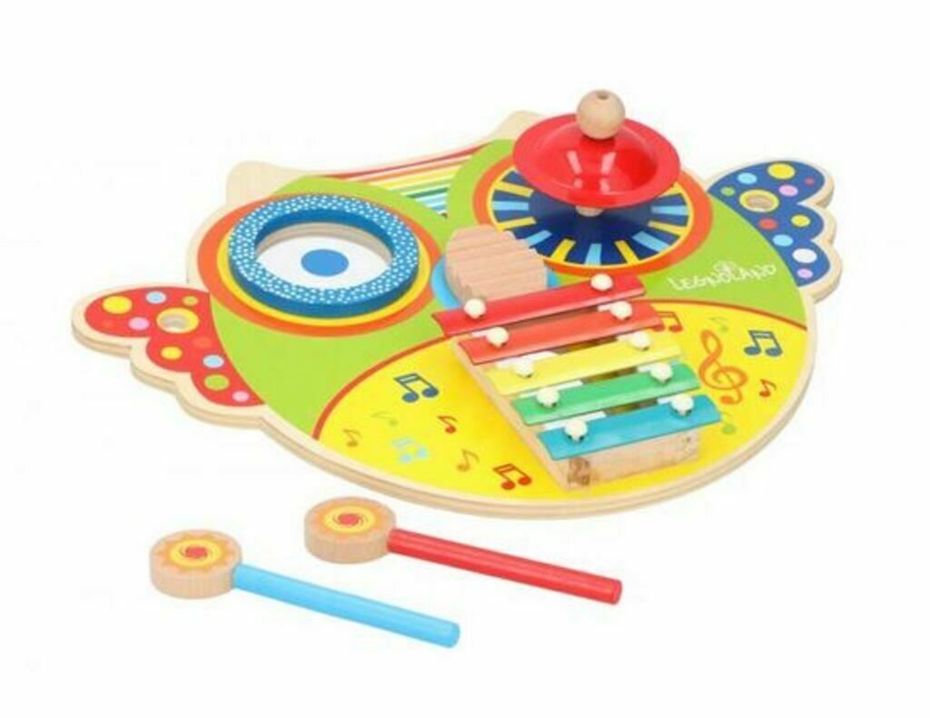 Marionette Wooden Toys Xylophone Eule