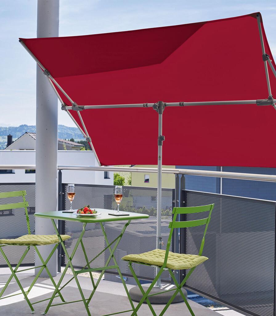 Glatz Sonnenschirm Flex-Roof 210x150 cm