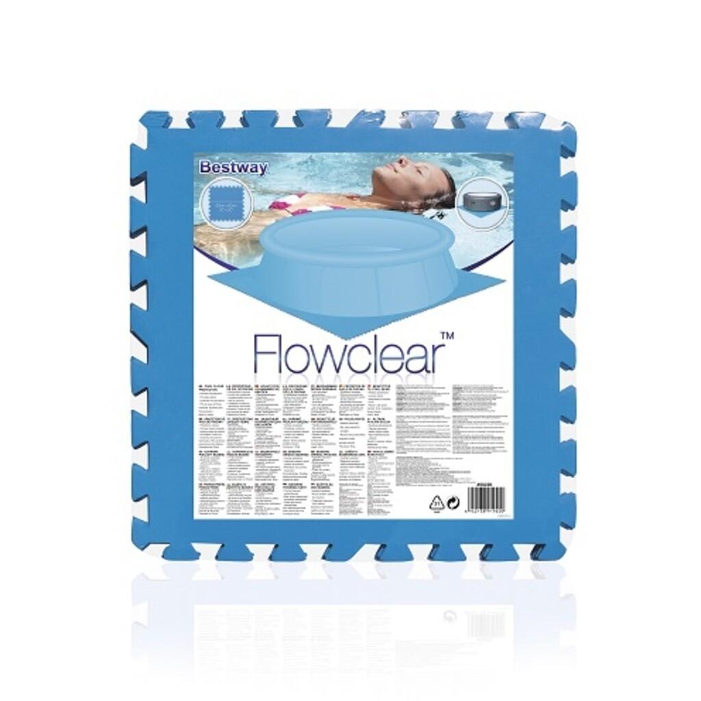 Bestway SO Poolmatten 9er Pack (50x50 cm)